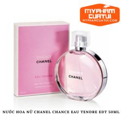 Nước hoa CHANEL chance màu hồng dành cho nữ - Chanel Chance Eau Tendre EDT 50ml