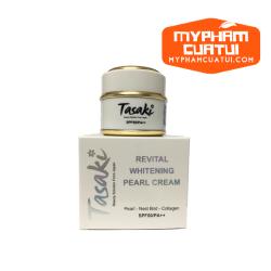 Kem TASAKI dưỡng trắng da ngọc trai - tổ yến - Collagen cao cấp